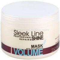 Stapiz Sleek Line Volume hydratačná maska  pre jemné vlasy bez objemu  250 ml