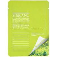 Steblanc Essence Sheet Mask Green Tea čistiaca a upokojujúca pleťová maska  20 g