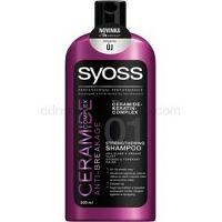 Syoss Ceramide Complex Anti-Breakage šampón pre posilnenie vlasov  500 ml