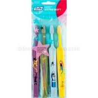 TePe Kids zubné kefky pre deti extra soft 4 ks