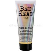TIGI Bed Head Dumb Blonde kondicionér pre chemicky ošterené vlasy  200 ml