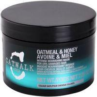 TIGI Catwalk Oatmeal & Honey intenzívna vyživujúca maska pre suché a poškodené vlasy  200 g
