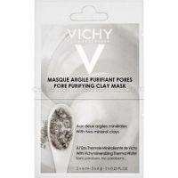 Vichy Mineral Masks čistiaca ílová pleťová maska malé balenie  2 x 6 ml
