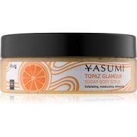 Yasumi Body Care Topaz Glamour zjemňujúci telový peeling  200 g
