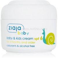 Ziaja Baby krém pre deti SPF 6  50 ml