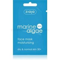 Ziaja Marine Algae hydratačná maska  pre normálnu a suchú pleť  7 ml