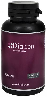 Advance nutraceutics Diaben 60 cps.