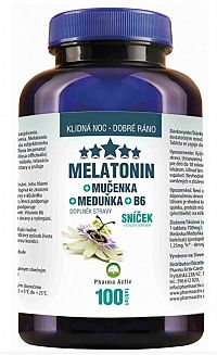 Aurum Melatonin Mučenka Meduňka B6 100 tabliet