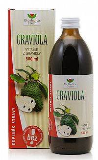EkoMedica Czech Graviola - výťažok z gravioly 500 ml