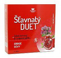 EkoMedica Czech Šťavnatý duet červený ďatelina + granátové jablko 2 x 500 ml