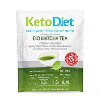 KetoDiet Matcha Tea 7x27 g + Jahoda 15 tbl.