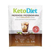 KetoDiet Proteinová ledová káva s čokoládovou příchutí (7 porcí)