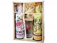 Kitl Syrob darčekové balenie (2x500ml + pohárik) grapefruit a zázvor
