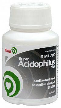 Klas Super Acidophilus plus 6 miliárd 60 kapsúl
