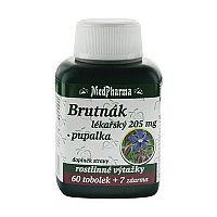 MedPharma Borák lekársky 205 mg + pupalka 60 tob. + 7 tob. ZD ARMA