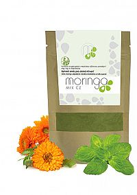 Moringa MIX Bylinná zmes pre dobré trávenie 30 g