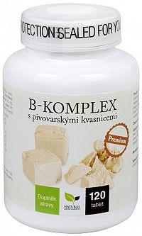 Natural Medicaments B-komplex s piv.kvas. 120 tabliet