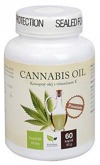 Natural Medicaments Cannabis oil 60 kapsúl