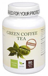 Natural Medicaments Green Coffee Tea 90 tabliet