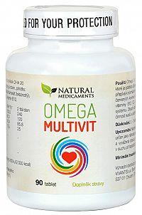 Natural Medicaments Omega Multivit 90 tabliet