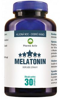 Pharma Activ Melatonín 30 tabliet