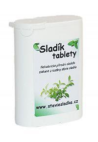 Salvia Paradise Sladík sladidlo - stévia cukrová tablety 200 ks