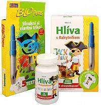Simply You Imunit Hliva ustricová pre deti s rakytníkom Jack Hlivák 60 tbl. + Fúkacie fixky ZADARMO