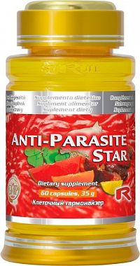STARLIFE ANTI-PARASITE STAR 60 kapslí