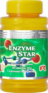 STARLIFE ENZYME STAR 60 kapsúl