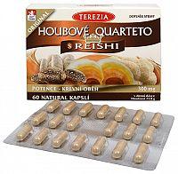 Terezia Company Hubové Quartet s reishi 60 kapsúl