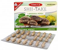 Terezia Company Shii-Take + Rhodiola rosea 60 kapsúl