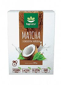 Topnatur Matcha s kokosovým nápojom 200 g