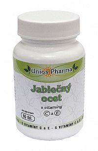 Unios Pharma Jablčný ocot s vitamínmi C a E 60 tbl.