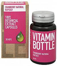 Vitamin Bottle Brusnica natural močové cesty 30 cps.