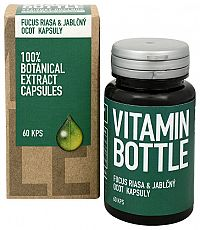 Vitamin-Bottle Fucus riasa a jablčný ocot 60 kapsúl