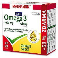 Walmark Omega-3 rybí olej Forte 1000 mg 90 tbl.