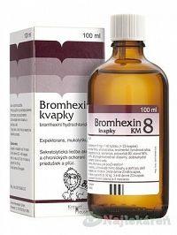 Bromhexin 8-kvapky KM sol.por.1x100ml