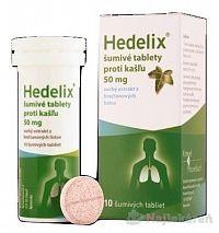 Hedelix šumivé tablety proti kašľu tbl.eff.10x50mg