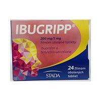 Ibugripp tbl.flm.24 x 200mg/5mg