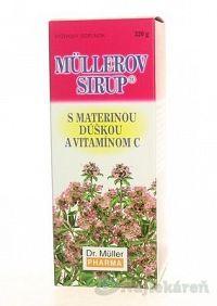 MÜLLEROV SIRUP S MATERINOU DUSKOU A VIT. C, 320 g