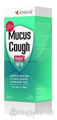 Sensilab MUCUS COUGH RELIEF SIRUP 125 ml