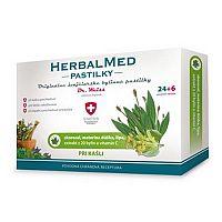Swiss HerbalMed pastilky pri kašli 30 pastiliek