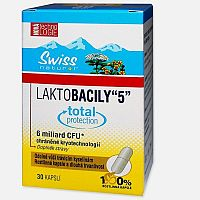 Swiss Laktobacily 5 enterický povlak 30cps
