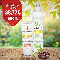 Balíček Psorioderm Sensitive krém 100 ml a šampón 250 ml na ekzém