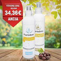 Balíček Psorioderm Sensitive telové mlieko 250 ml a sprchový gél 250 ml na ekzém