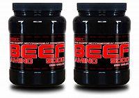 1+1 Zadarmo: Amino BEEF 5000 - Best Nutrition 500 tbl + 500 tbl