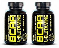 1+1 Zadarmo: BCAA plus L-Glutamine - Best Nutrition 250 tbl + 250 tbl