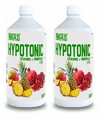 1+1 Zadarmo: Hypotonic Sport Drink - Best Nutrition Citrón 1000 ml + 1000 ml