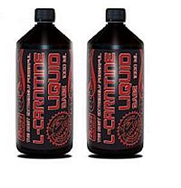 1+1 Zadarmo: L-Carnitine Liquid Base - Best Nutrition Višňa 1000 ml + 1000 ml