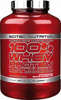 100% Whey Protein Profesional - Scitec Nutrition Jahoda & Biela čokoláda 2350g